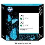 HP CB348A G zöld #No.70 -2db tintapatron, 130 ml | eredeti termék