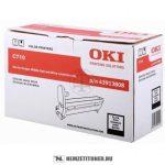 OKI C710 Bk fekete dobegység /43913808/, 20.000 oldal | eredeti termék