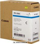 Canon PFI-306 C ciánkék tintapatron /6658B001/, 330 ml | eredeti termék