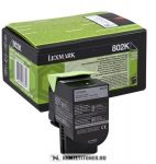 Lexmark CX 310, 410, 510 Bk fekete toner /80C20K0, 802K/, 1.000 oldal | eredeti termék