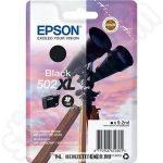 Epson T02W1 Bk fekete tintapatron /C13T02W14010, 502XL/, 9,2 ml | eredeti termék
