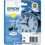 Epson T2704 Y sárga tintapatron /C13T27044010, C13T27044012/, 3,6 ml | eredeti termék