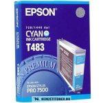 Epson T483 C ciánkék tintapatron /C13T483011/, 110 ml | eredeti termék