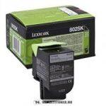 Lexmark CX 310, 410, 510 Bk fekete XL toner /80C2SK0, 802SK/, 2.500 oldal   eredeti termék