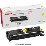 Canon CRG-701 Y sárga toner /9284A003/, 4.000 oldal | eredeti termék