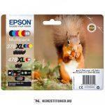 Epson T379D multipack (Bk,C,M,Y,R,GY) tintapatron /C13T379D4010, 378XL+478XL/, 2x11,2 ml + 3x9,3 ml + 10,2 ml | eredeti termék