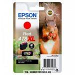 Epson T04F5 R vörös tintapatron /C13T04F54010, 478XL/, 10,2 ml    eredeti termék