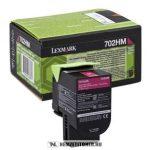 Lexmark CS 310, CS 410, CS 510 M magenta XL toner /70C2HM0, 702HM/, 3.000 oldal | eredeti termék