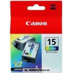 Canon BCI-15 C színes tintapatron /8191A002/, 7,5 ml | eredeti termék