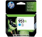 HP CN046AE C ciánkék #No.951 XL tintapatron, 17 ml | eredeti termék