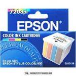 Epson S020138 40 multipack (Bk,C,M,Y) tintapatron /C13S02013840/, 4x110 ml | eredeti termék