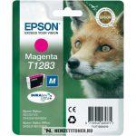Epson T1283 M magenta tintapatron /C13T12834011, C13T12834012/, 3,5 ml | eredeti termék