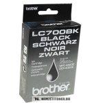 Brother LC-700 Bk fekete tintapatron | eredeti termék