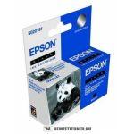 Epson S020187 Bk fekete tintapatron   eredeti termék