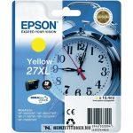 Epson T2714 XL Y sárga tintapatron /C13T27144010, C13T27144012/, 10,4 ml | eredeti termék