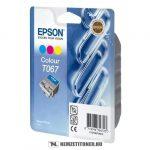 Epson T067 színes tintapatron /C13T06704010/, 25 ml | eredeti termék