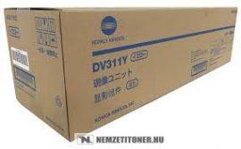 Konica Minolta Bizhub C220, C280 Y sárga developer /A0XV08D, DV-311Y/, 120.000 oldal   eredeti termék