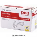 OKI C5650, C5750 Y sárga dobegység /43870005/, 20.000 oldal | eredeti termék