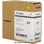Canon PFI-306 GY szürke tintapatron /6666B001/, 330 ml | eredeti termék