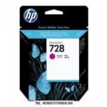 HP F9J62A M magenta  #No.728 tintapatron, 40 ml | eredeti termék