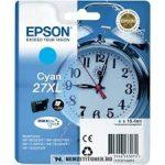 Epson T2712 XL C ciánkék tintapatron /C13T27124010/, 10,4 ml | eredeti termék