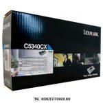 Lexmark C534 Bk fekete toner /C5340KX/, 4.000 oldal | eredeti termék