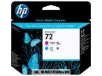 HP C9383A C ciánkék + M magenta #No.72 nyomtatófej | eredeti termék