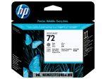 HP C9380A Bk fekete + GY szürke #No.72 nyomtatófej | eredeti termék