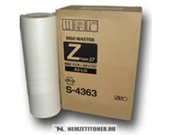 RISO MZ 770, RZ 370, 570 Master A/3 2db /S-4363, Z-TYPE37/ | eredeti termék