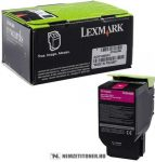 Lexmark 70x Magenta Toner High Corporate(Eredeti)70C2HME