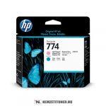 HP P2V98A LM+LC világos magenta+világos ciánkék #No.774 nyomtatófej   eredeti termék