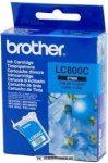 Brother LC-800 C ciánkék tintapatron | eredeti termék