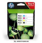 HP 3HZ51AE multipack #No.903XL tintapatron (Bk,C,M,Y), 21,5 ml + 3x9,5 ml | eredeti termék