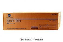 Konica Minolta Bizhub C224, C364 C ciánkék developer /A2XN0KD, DV-512C/, 600.000 oldal | eredeti termék