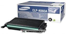 Samsung CLP-610, 660 Bk fekete toner /CLP-K660A/ELS/, 2.500 oldal | eredeti termék