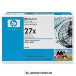 HP C4127X - 27X - fekete toner, 10.000 oldal | eredeti termék