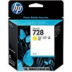 HP F9J61A Y sárga #No.728 tintapatron, 40 ml | eredeti termék