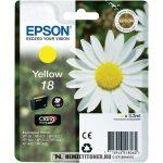 Epson T1804 Y sárga tintapatron /C13T18044010/, 3,3 ml | eredeti termék