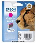 Epson T0713 M magenta tintapatron /C13T07134011, C13T07134012/, 5,5 ml | eredeti termék