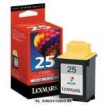Lexmark 15M0125E színes #No.25XL tintapatron, 30 ml | eredeti termék