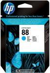 HP C9386AE C ciánkék #No.88 tintapatron, 10 ml | eredeti termék