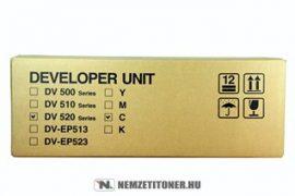 Kyocera DV-520 C ciánkék developer /302HJ93040/, 100.000 oldal | eredeti termék