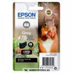 Epson T04F6 GY szürke tintapatron /C13T04F64010, 478XL/, 11,2 ml | eredeti termék