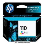 HP CB304AE színes #No.110 tintapatron, 5 ml | eredeti termék