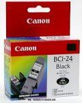 Canon BCI-24 BK fekete tintapatron /6881A002/, 9 ml | eredeti termék
