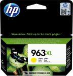 HP 3JA29AE Y sárga #No.963XL tintapatron, 22,77 ml   eredeti termék