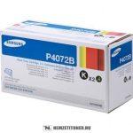 Samsung CLP-320, 325 Bk fekete DUPLA toner /CLT-P4072B/ELS/, 2x1.500 oldal | eredeti termék