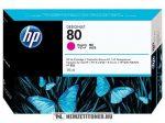 HP C4874A M magenta #No.80 tintapatron, 175 ml | eredeti termék