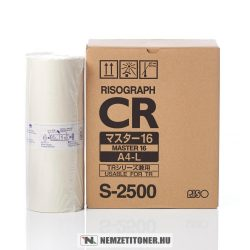 RISO CR 1610, TR 1500 Master A/4 2db /S-2500/, 400 oldal | eredeti termék
