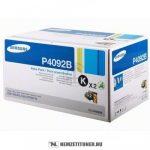 Samsung CLP-310, 315 fekete DUPLA toner /CLT-P4092B/ELS/, 2x1.500 oldal   eredeti termék